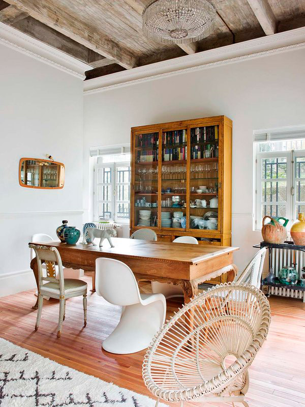 de antiguo local a hogar luminoso con mucho vintage a perfect home that went from dark to light