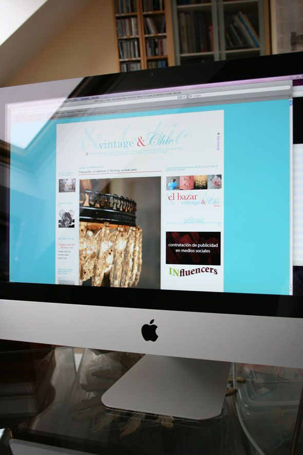 imac vintage and chic