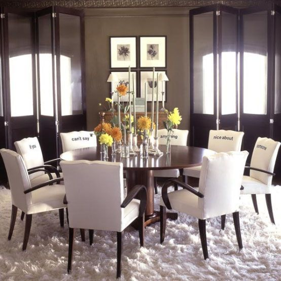 Comedor con mensaje [] dining with a message   vintage & chic ...