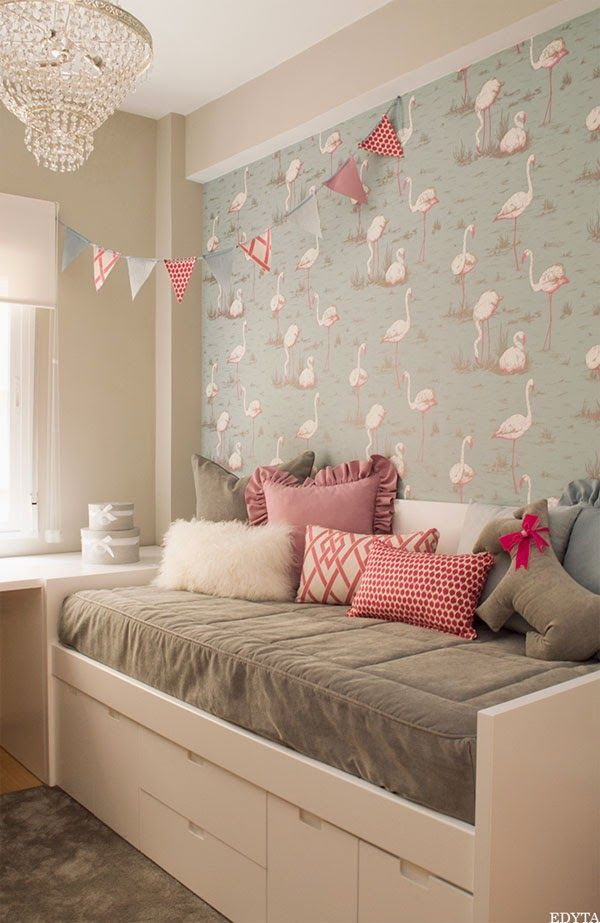 un dormitorio infantil en rosa gris y blanco a girly On deco dormitorio adulto rosa y gris